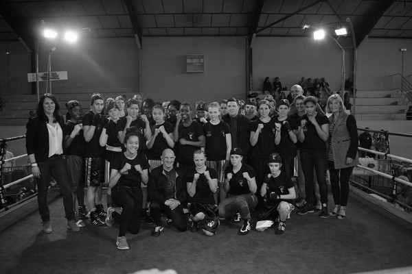 Boxe - ladies Boxing Tour photo de groupe